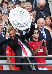 Well done, David Moyes. Your first silverware. #InMoyesWeTrust.